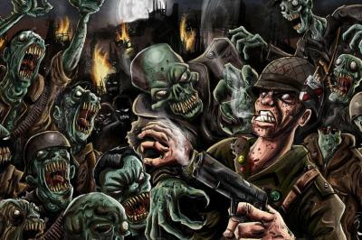 Zombie wallpaper ·① Download free stunning backgrounds for desktop and mobile devices in any ...