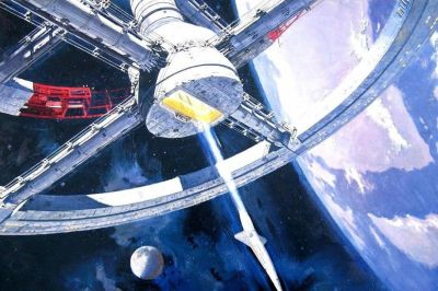 2001 A Space Odyssey Wallpaper ·①