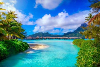 Bora Bora Backgrounds ·①