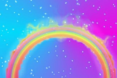 Cool Rainbow Backgrounds ·①