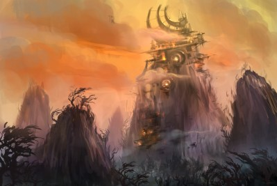 Warlords of Draenor Landscape Art Wallpapers HD / Desktop and Mobile Backgrounds