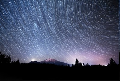 nature, Landscape, Night, Stars, Star Trails Wallpapers HD / Desktop and Mobile Backgrounds