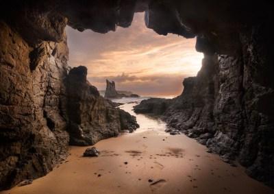 beach, Cave, Australia, Sand, Rock, Sea, Sunset, Clouds, Nature, Landscape Wallpapers HD ...
