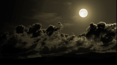 landscape, Storm, Moon, Sky Wallpapers HD / Desktop and Mobile Backgrounds