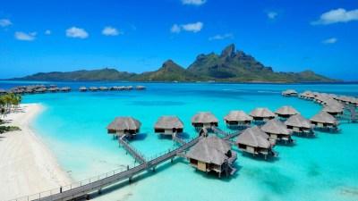 landscape, Bora Bora Wallpapers HD / Desktop and Mobile Backgrounds