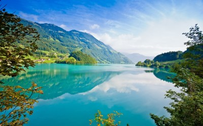 nature, Landscape, Turquoise, Mountain, Lake Wallpapers HD / Desktop and Mobile Backgrounds