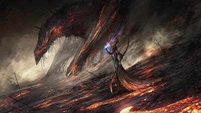 lava, DeviantArt, Digital Art, World Of Warcraft, Deathwing, Video Games, Dragon, Artwork ...