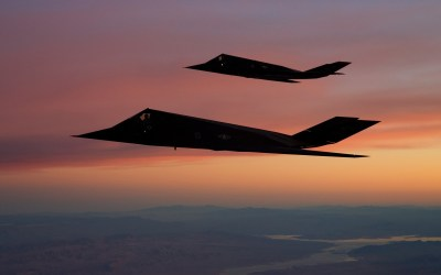 F 117 Nighthawk, Aircraft, Stealth, Military Aircraft, Sunset, US Air Force, Strategic Bomber ...