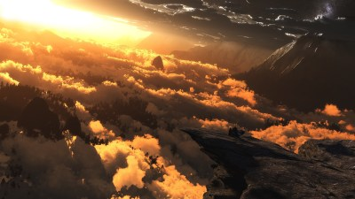digital Art, Clouds, Sunlight Wallpapers HD / Desktop and Mobile Backgrounds