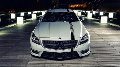 car, Mercedes Benz CLS, White, C63 AMG Wallpapers HD / Desktop and Mobile Backgrounds