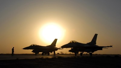 military Aircraft, Airplane, Jets, Silhouette, Sun, General Dynamics F 16 Fighting Falcon ...