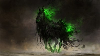 digital Art, Drawing, Fantasy Art, Horse, DeviantArt, Apocalyptic Wallpapers HD / Desktop and ...