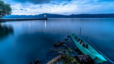 nature, Lake, Sumatra, Boat Wallpapers HD / Desktop and Mobile Backgrounds