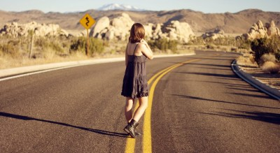 women, Alone, Road Wallpapers HD / Desktop and Mobile Backgrounds