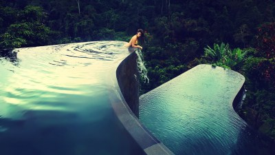 women, Bikini, Swimming Pool Wallpapers HD / Desktop and Mobile Backgrounds
