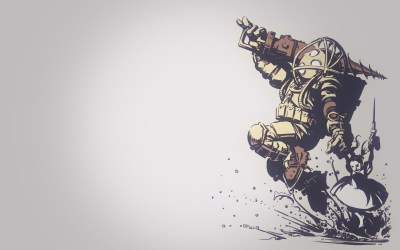 BioShock, Big Daddy, Little Sister Wallpapers HD / Desktop and Mobile Backgrounds