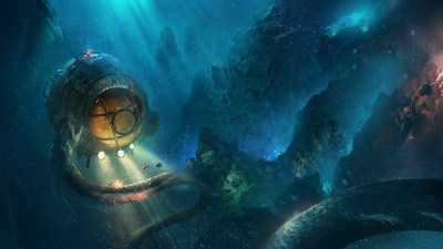 H. P. Lovecraft, Underwater, Fantasy art, Artwork, Cthulhu Wallpapers HD / Desktop and Mobile ...