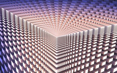 optical illusion, Cube Wallpapers HD / Desktop and Mobile Backgrounds