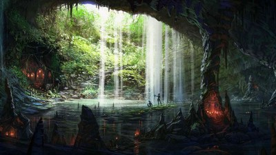 3D Cave Picturebook Wallpapers HD / Desktop and Mobile Backgrounds