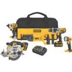 Reviewing:  DEWALT DCK590L2 20-Volt MAX Li-Ion 3.0 Ah 5-Tool Combo Kit