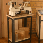 Rockler's Steel Shop Stand | Mini Lathe Station