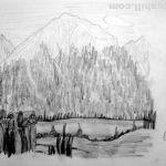Landscape. Soll, Austria. 19880727
