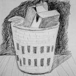 Waste Paper Basket. 19881224