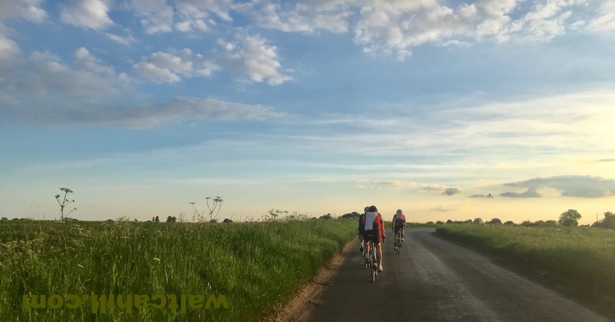 Summer's evening Road Ride