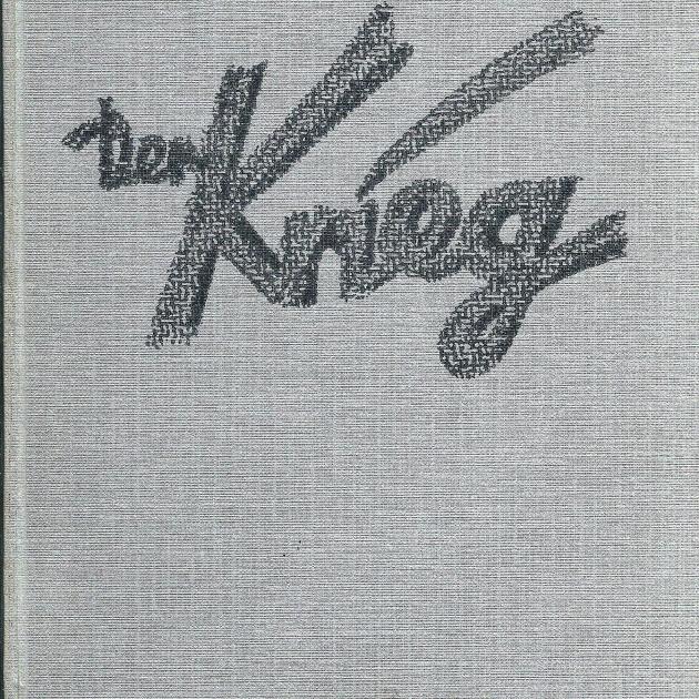 Kurt Kläber (Hg.): Der Krieg - Das erste Volksbuch vom Grossen Krieg