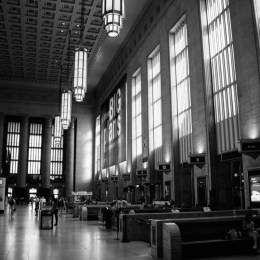 Philadelphia's 30th Street Station is currently undergoing significant renovations.