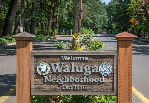Welcome to the Waluga Neighborhood, Est. 1976