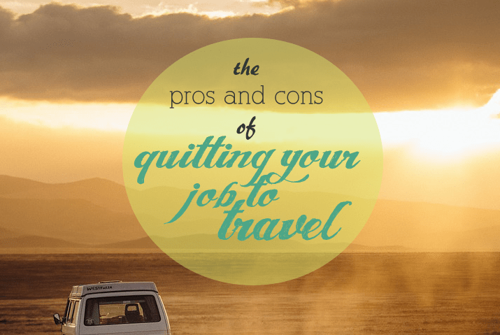 pros and cons of travel