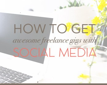 get awesome freelance gigs