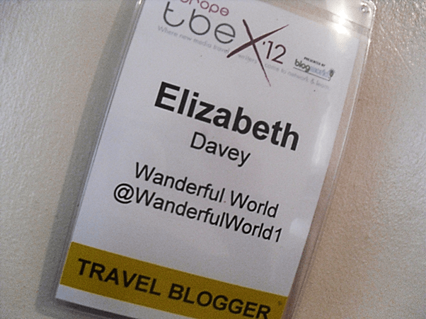 TBEX Namecard, TBEX Girona, travel blogging conference