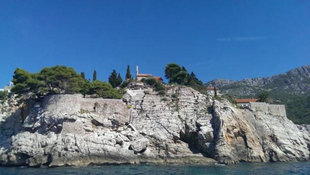 James bond island, hotel, Budva, montenegro
