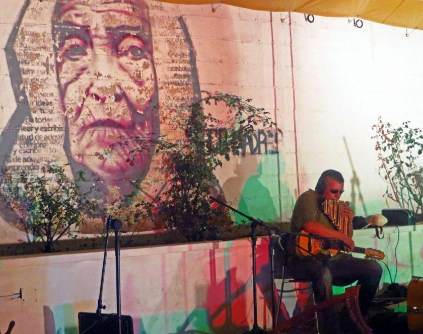 Musician in El Salvador