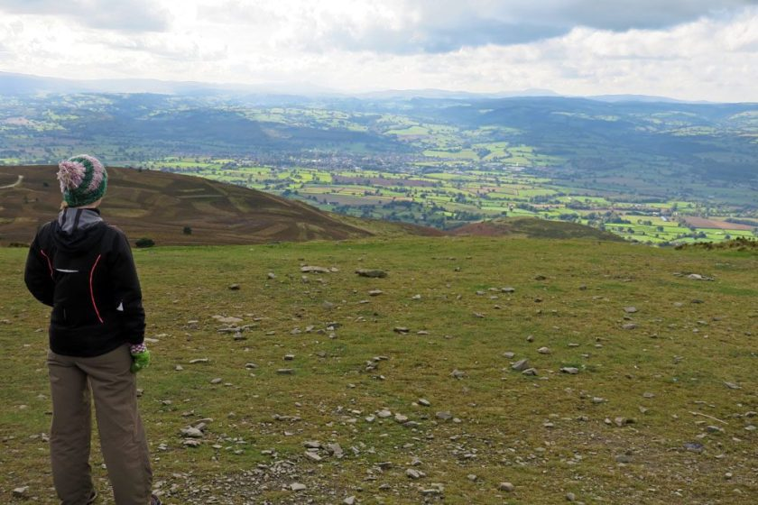 Moel Famau views north wales travel closer to home