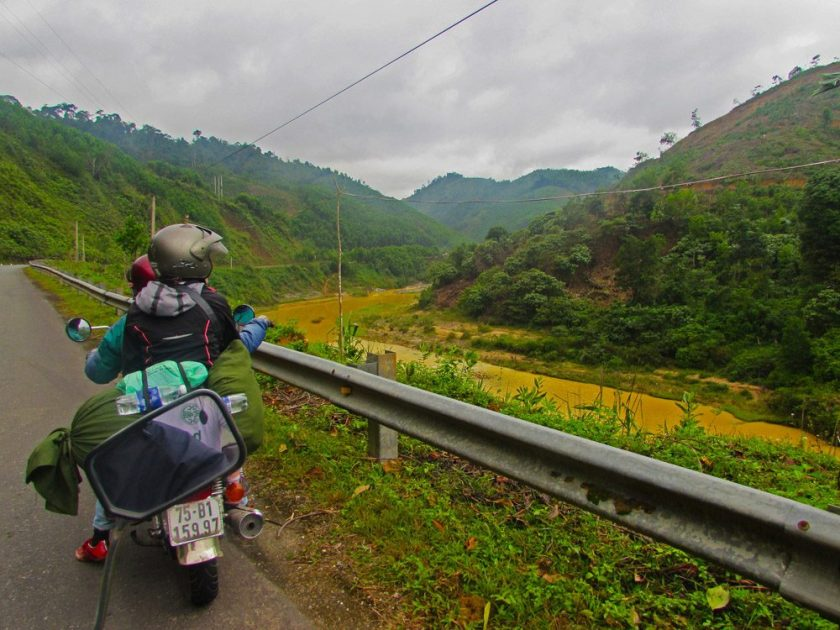 Moped tour Vietnam