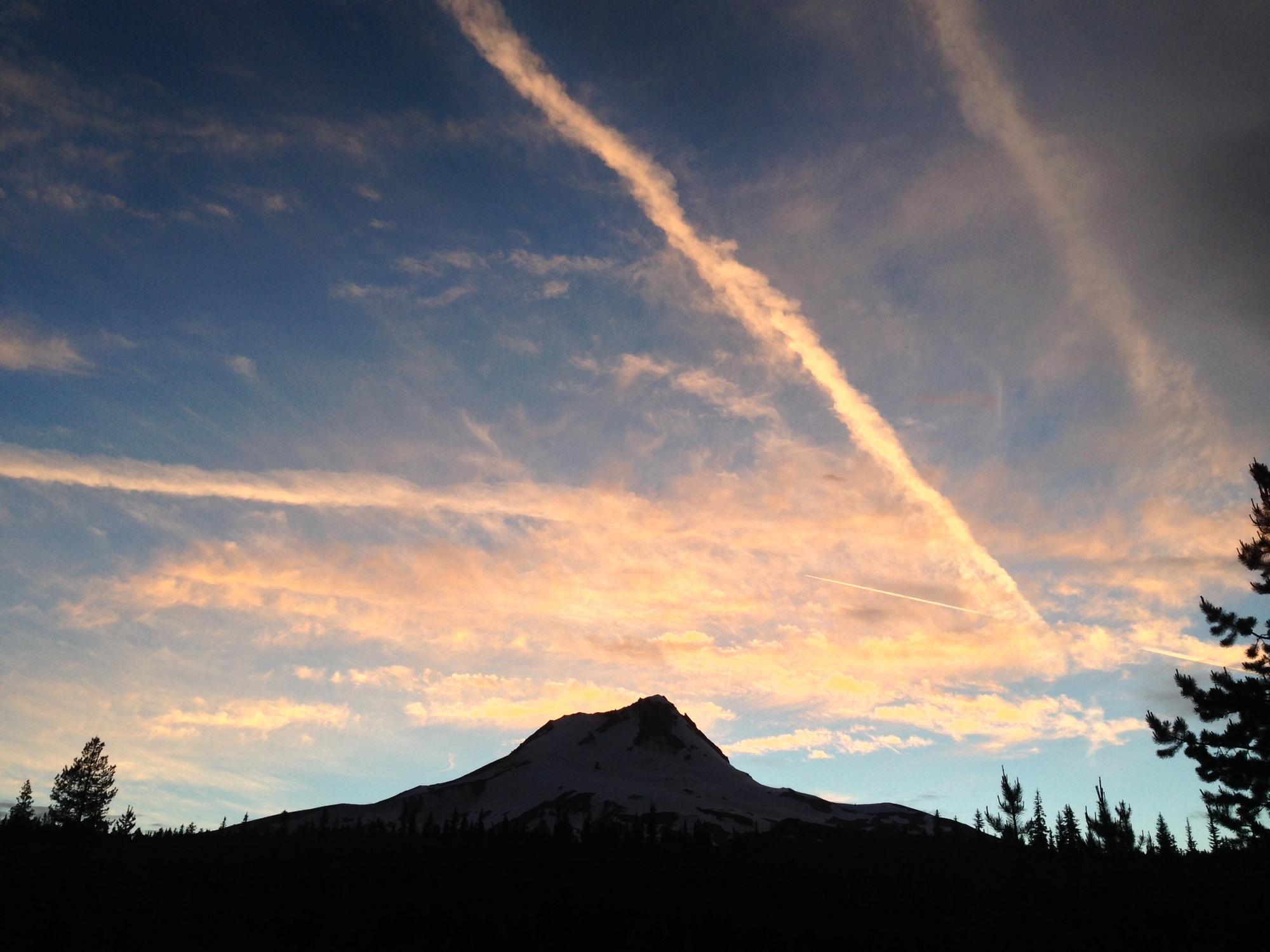 Backpacking through Elk Meadows, Oregon