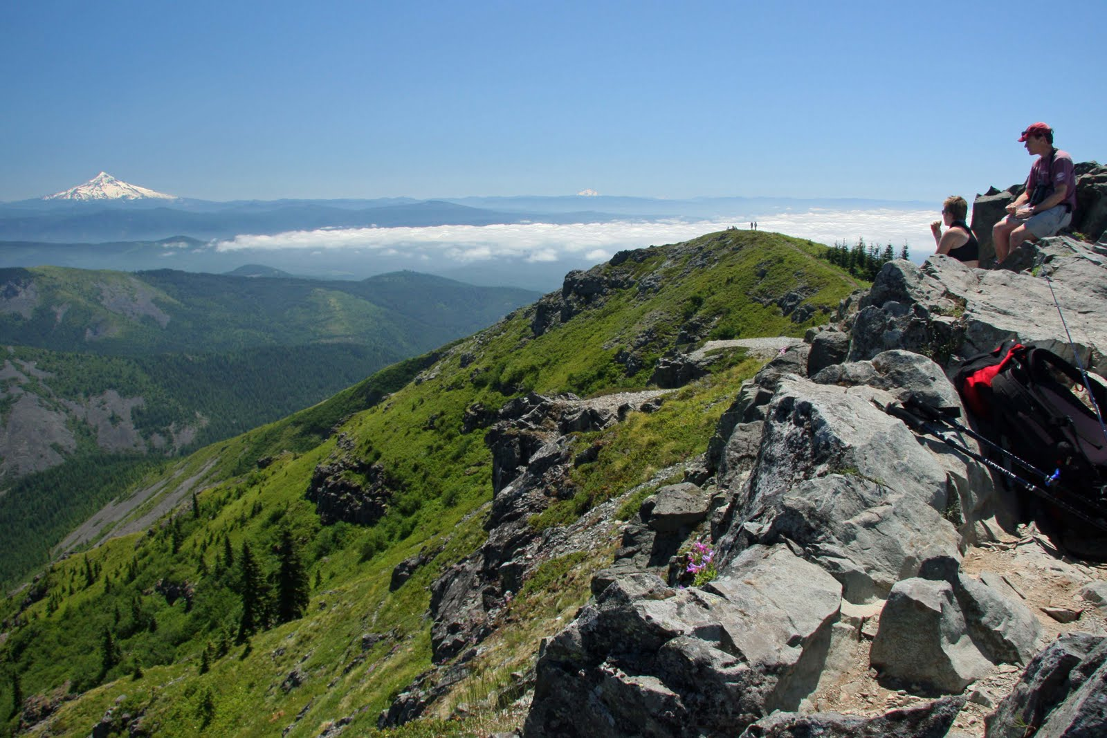 Hiking Silver Star Mountain, Washington