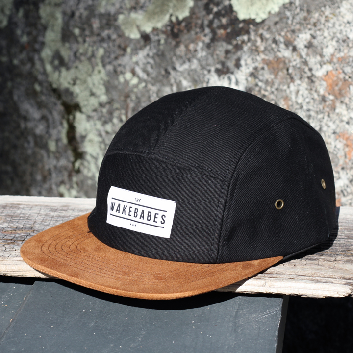 Wakebabes 5 Panel Camp Hat
