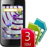 Explay Atom — смартфон с 3 sim–картами