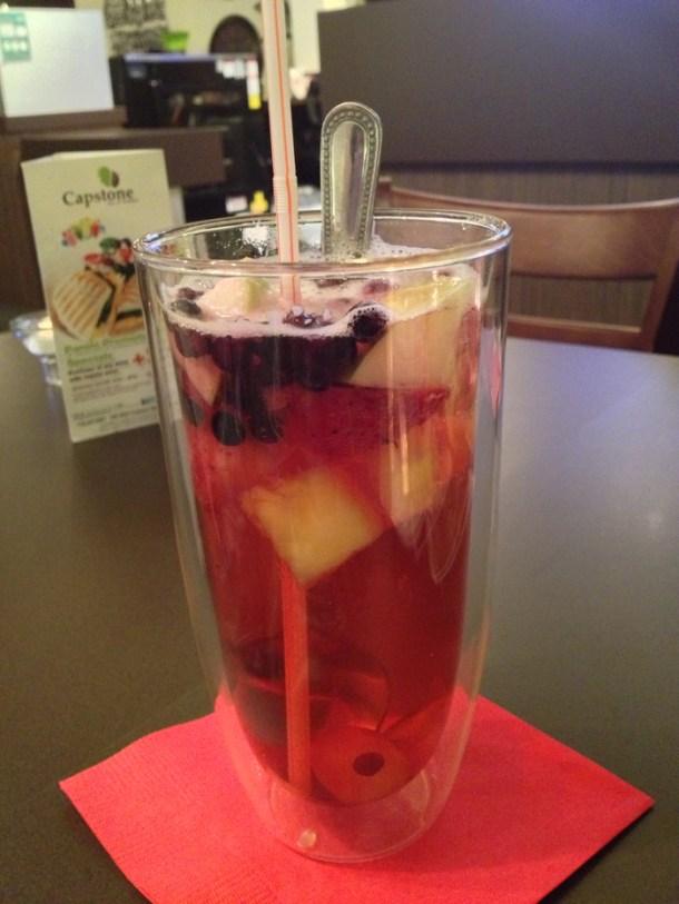 blueberry fruit tea 1