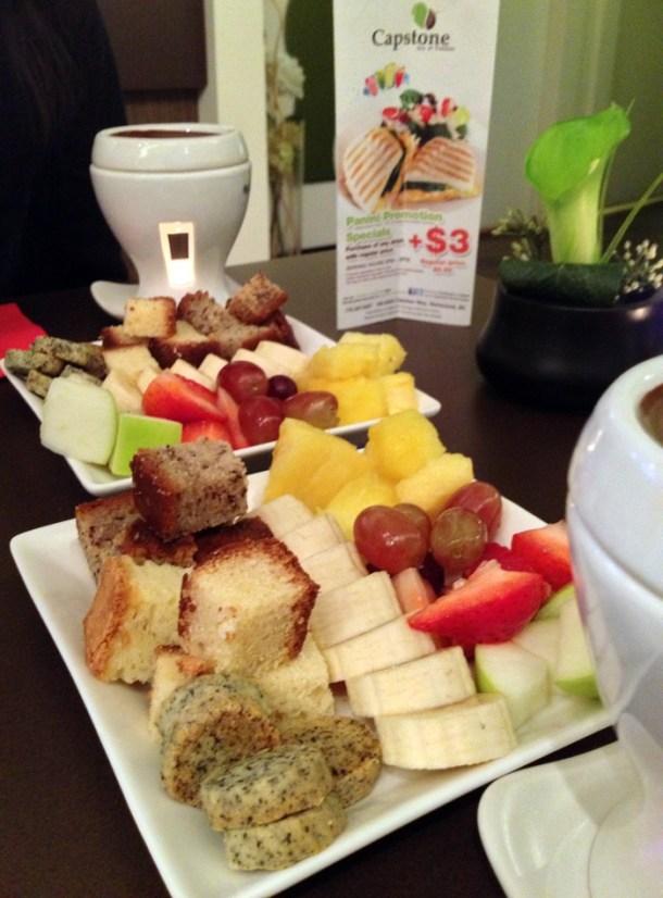 fondue toppings