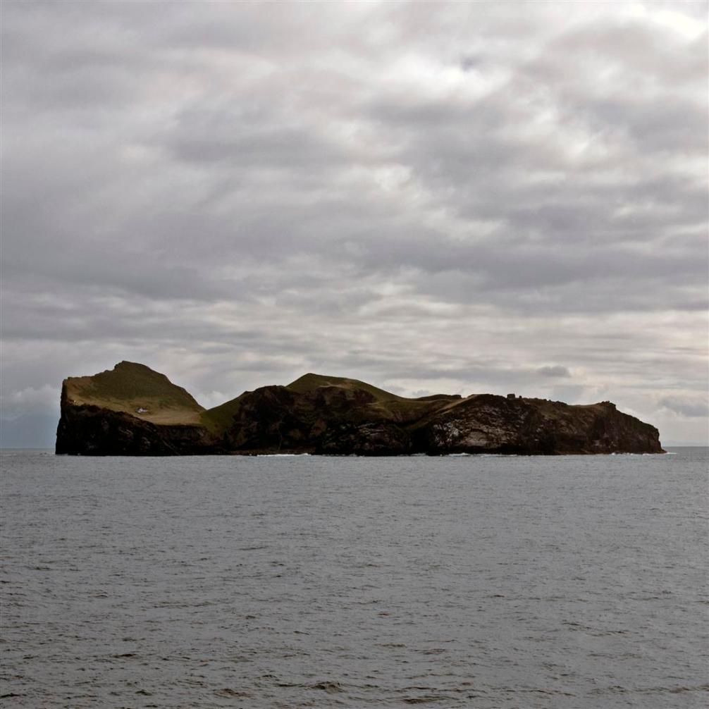 Elliðaey, with not-Björk-house on the left-hand side.