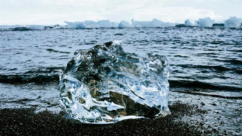 Doesn't it look like a big chunk of diamond?