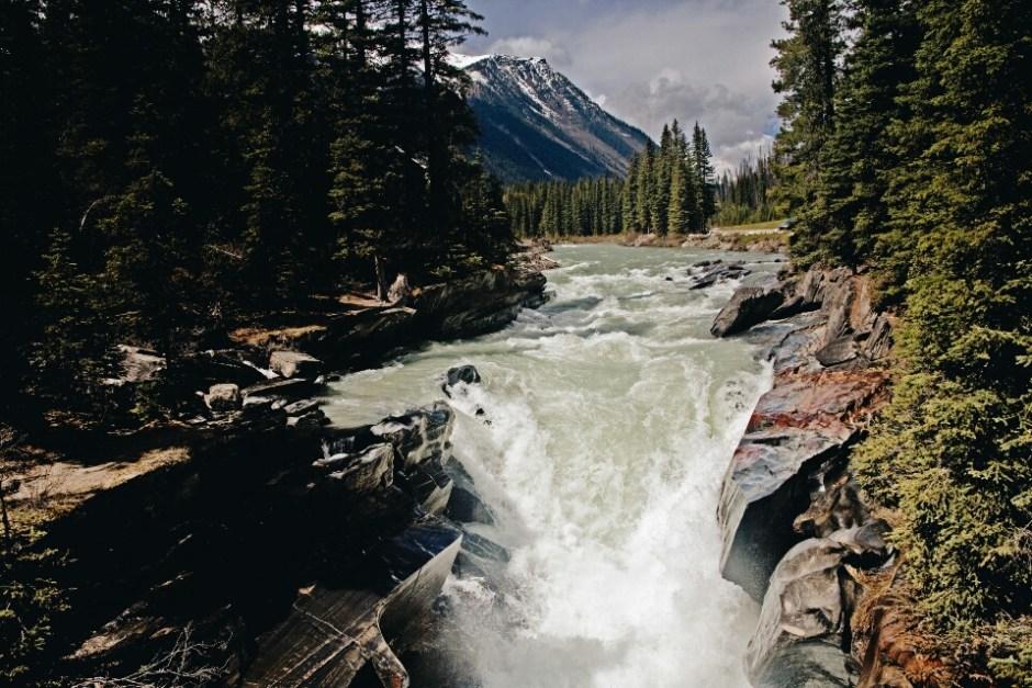 Numa Falls in Kootenay National Park.