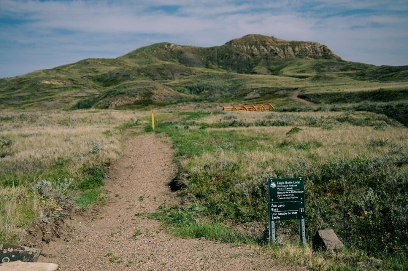 The Eagle Butte looks very inviting.