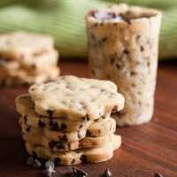 roll-out chocolate chip cookies