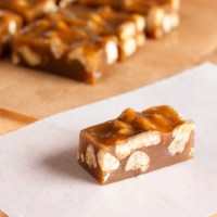 spiced maple walnut caramels